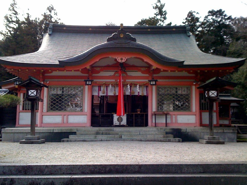 左久奈度神社・社殿
