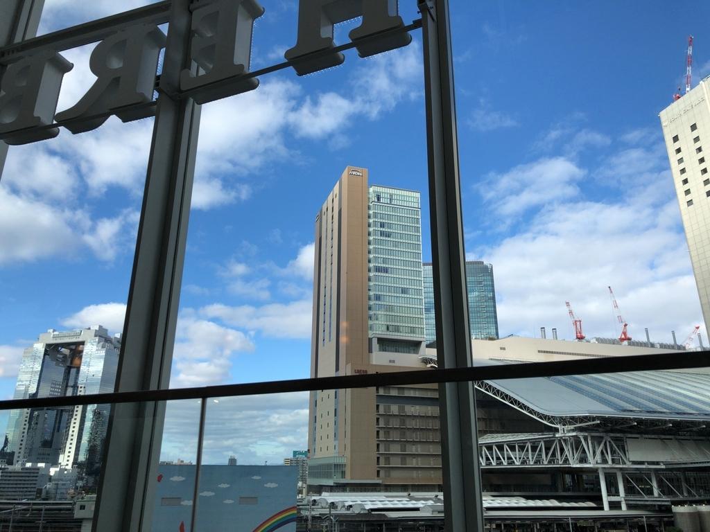 梅田のショコラティエ パレ ド オールからの景色