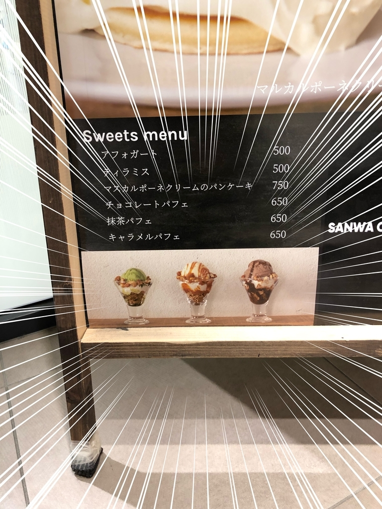 SANWA COFFEE WORKS の立て看板