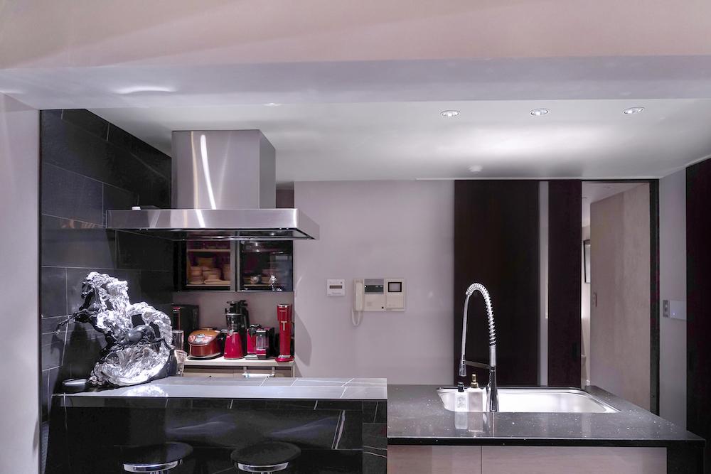 リノベーションマンションのキッチン