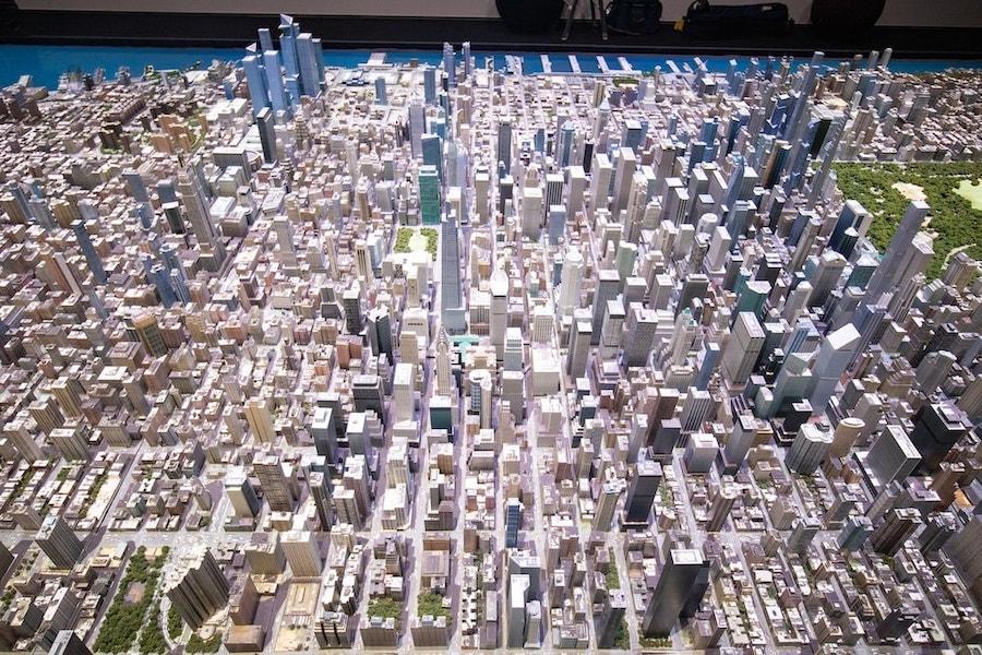 ニューヨークの模型