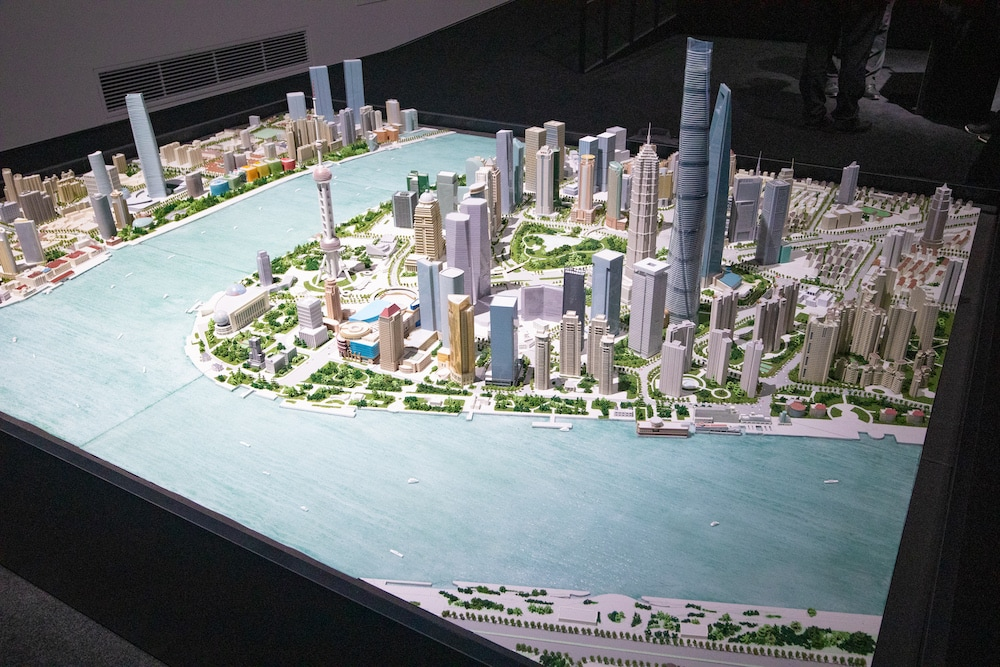 上海の模型