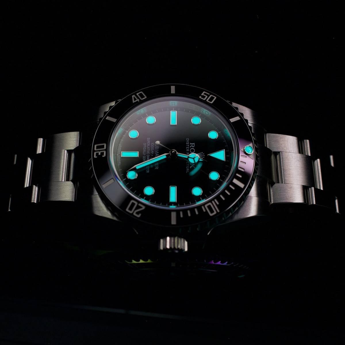 luminous clock