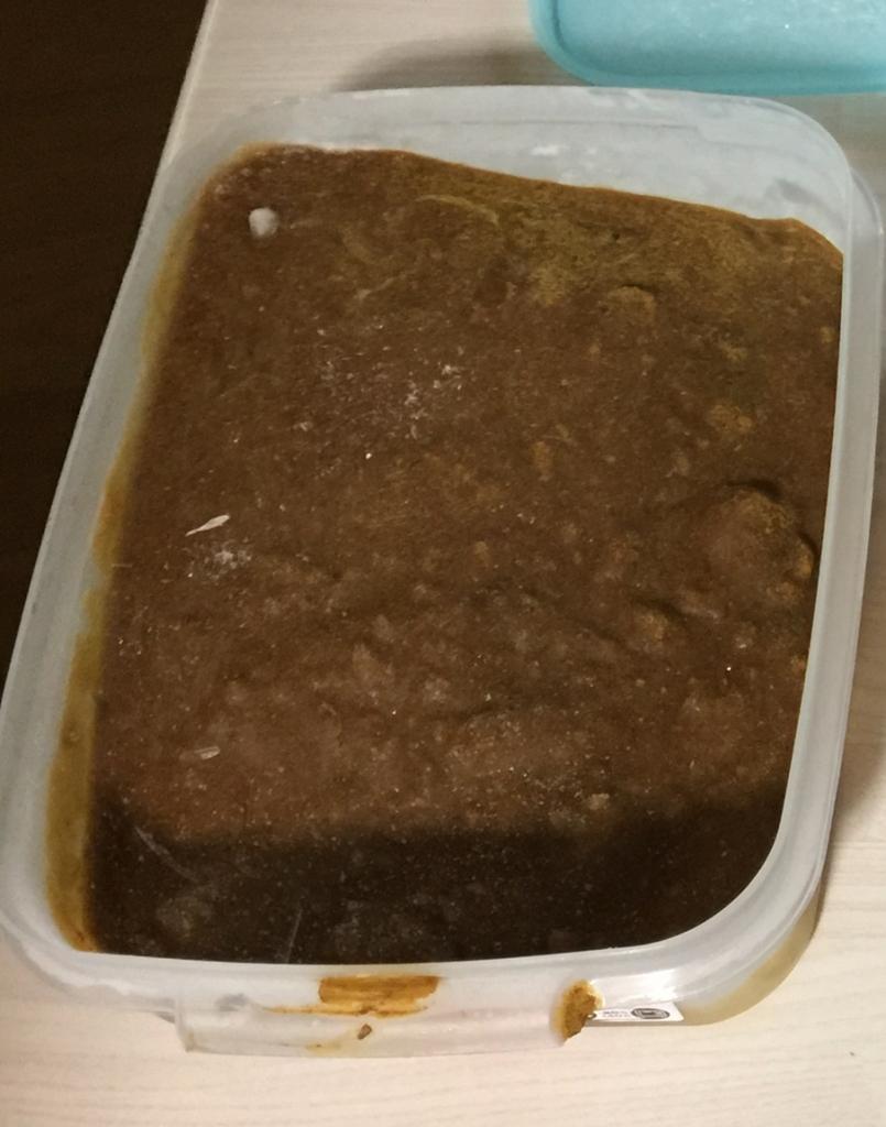 カレールーを冷凍保存