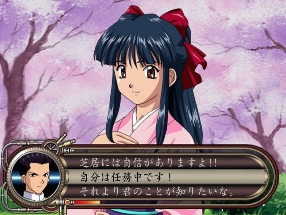 旧シリーズのゲーム画面
