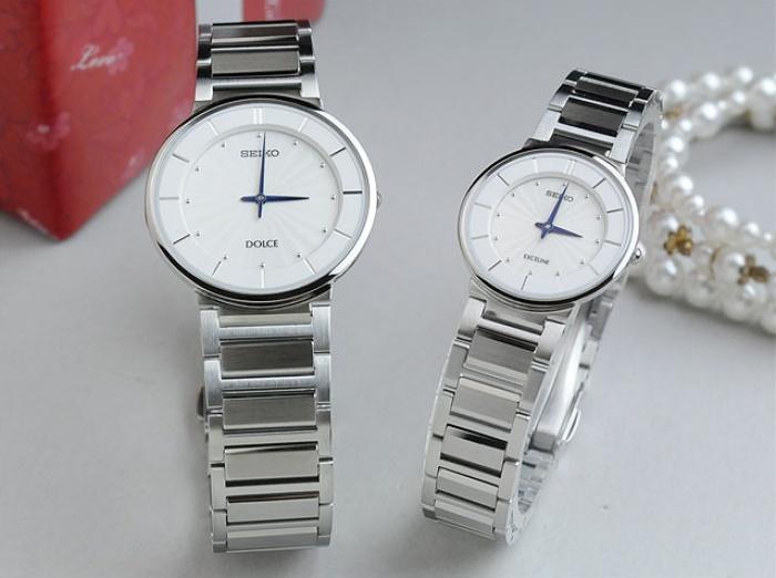 ペアウォッチ セイコー ドルチェ&エクセリーヌ 薄型 ドレスタイプ 腕時計 ペア