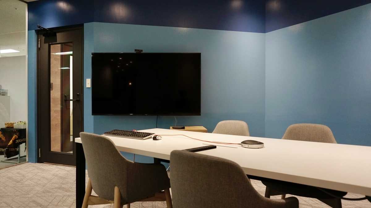 会議室の内装