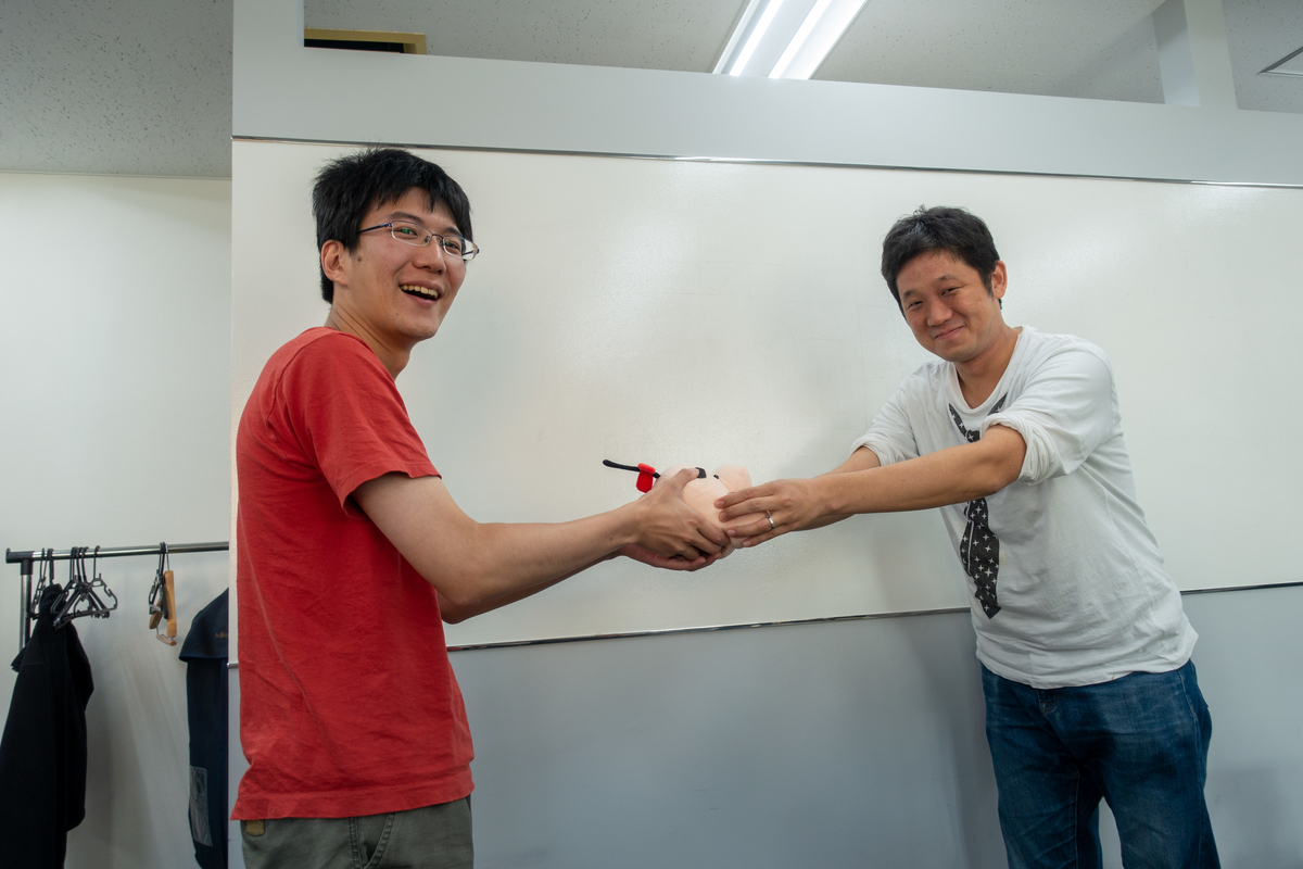 syunsukeさんからharuhikoさんへ♪