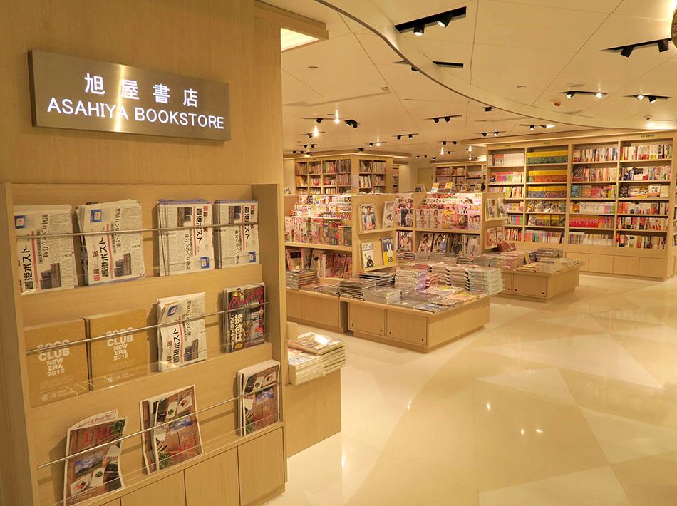 香港そごう旭屋書店の店内の写真