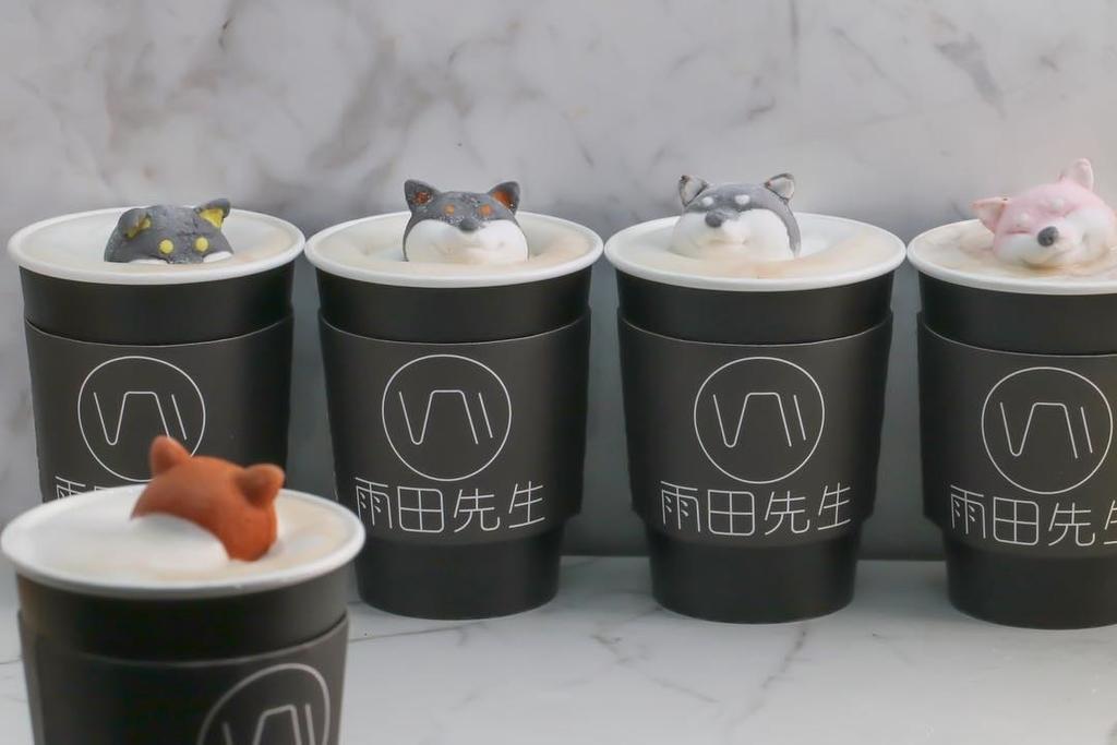 台北インスタ映えカフェ雨田先生手沖飲品吧のドリンクの写真