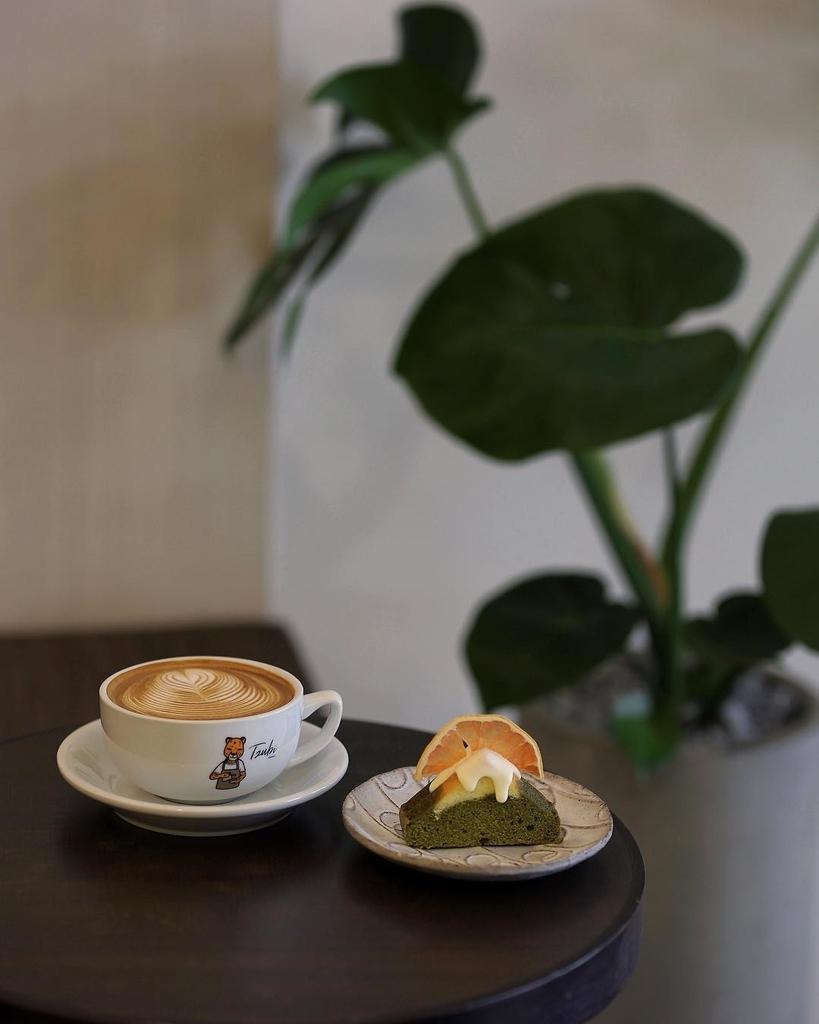 台北インスタ映えカフェTzubi coffeeのケーキの写真