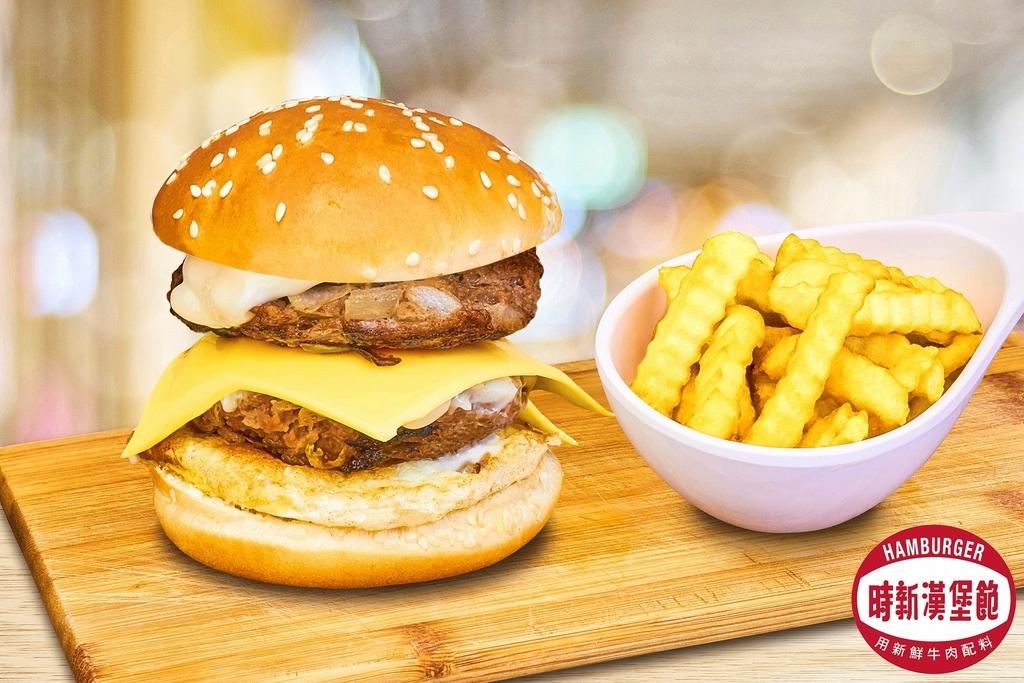 香港ホンハムエリアのグルメ時新漢堡飽のバーガーの写真