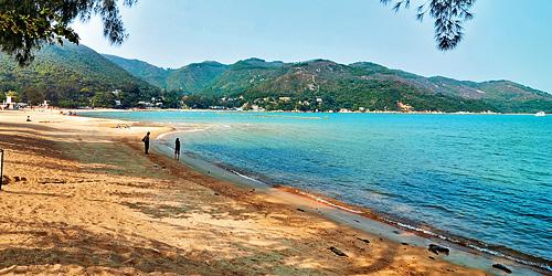 香港離島梅窩のビーチの写真