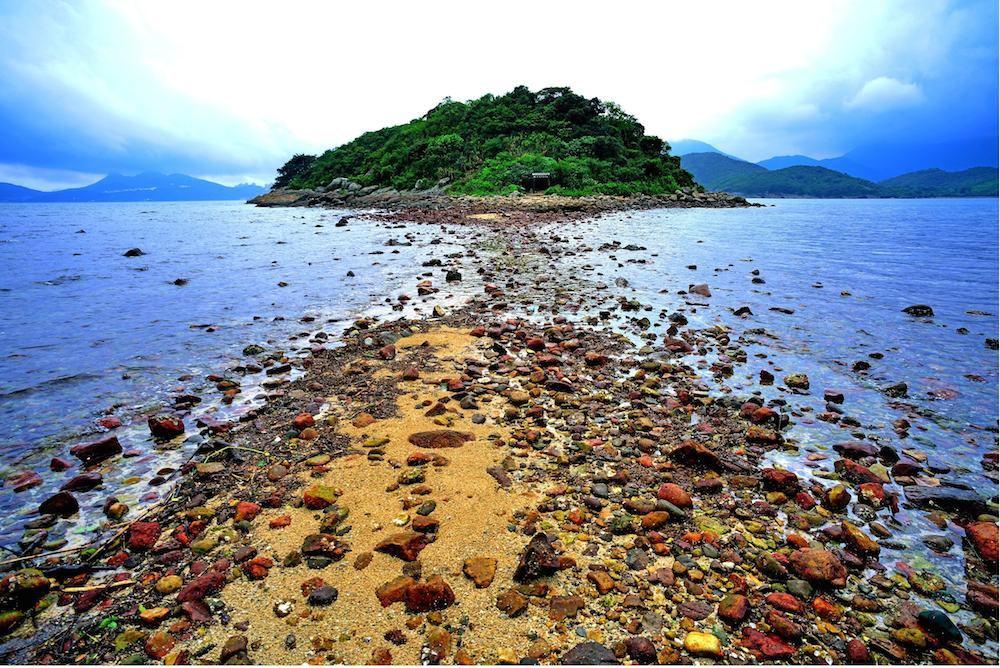 香港離島おすすめ橋咀島(シャープアイランド)の写真