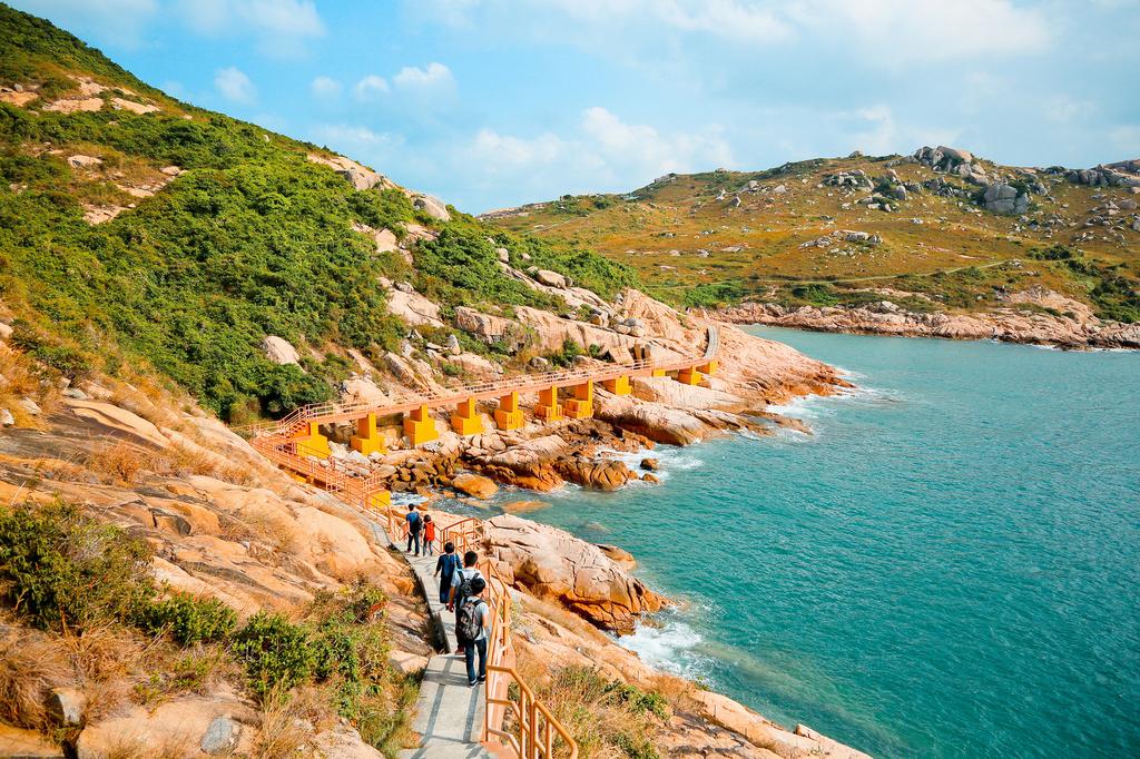 香港おすすめ離島「蒲台島」の写真