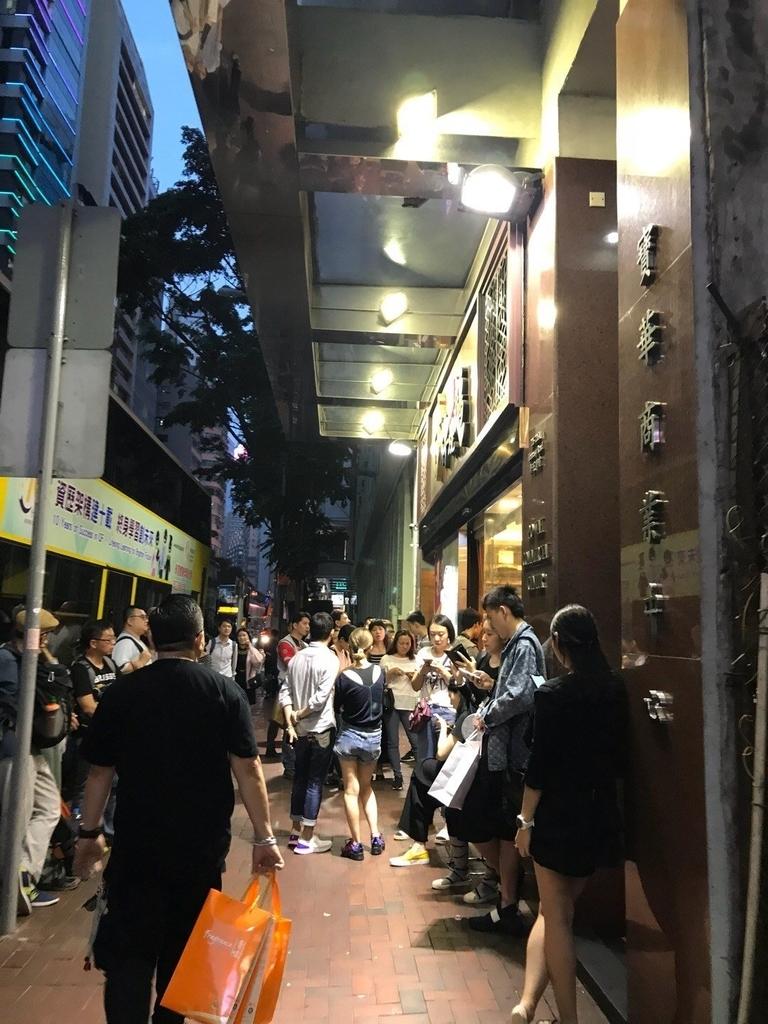 安い!香港ミシュラン一つ星甘牌焼鵝の外観写真
