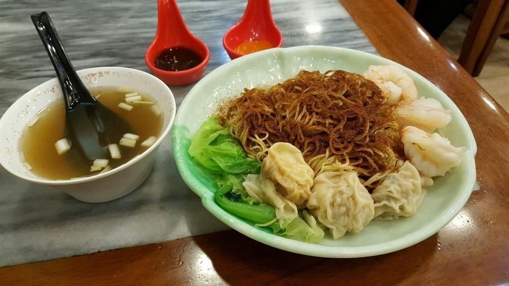 香港ミシュラン坤記竹昇麵の写真
