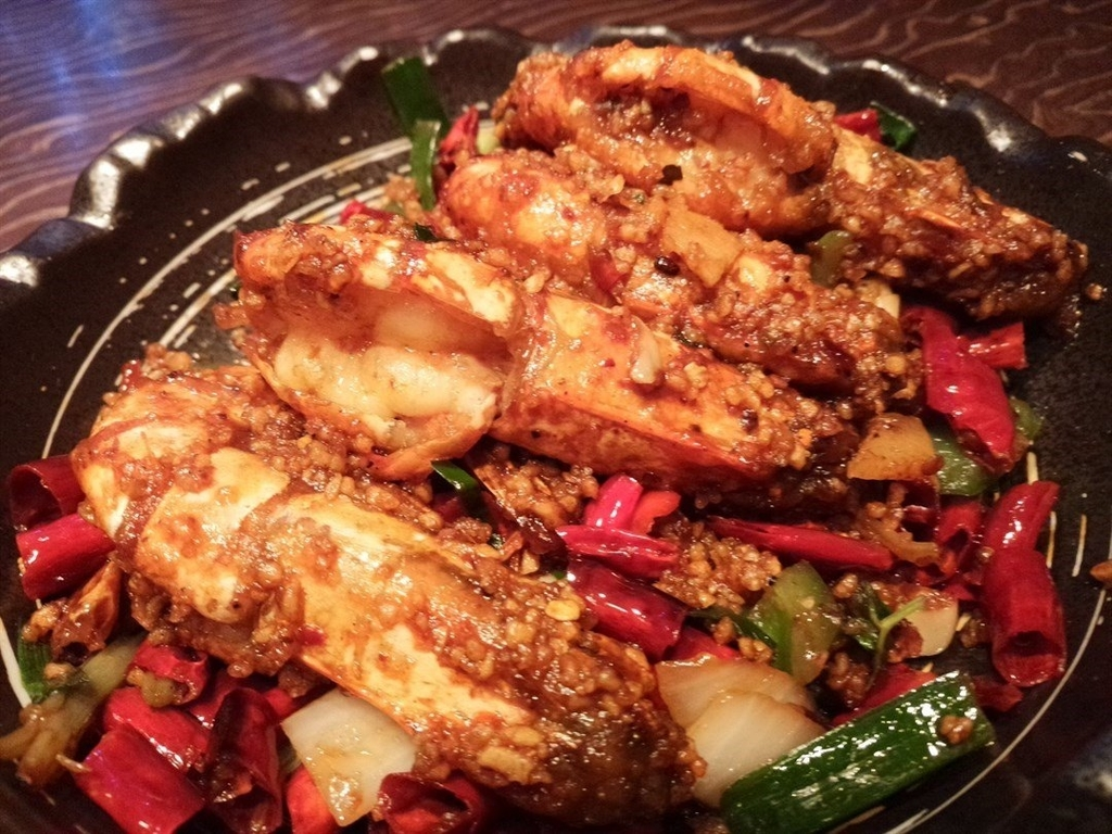 香港チムサーチョイ四川料理レストラン面譜の写真