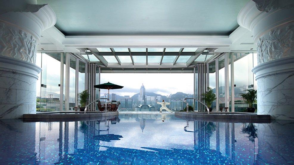 香港ペニンシュラホテルの写真