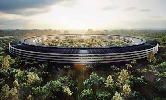 アメリカのアップルの新社屋