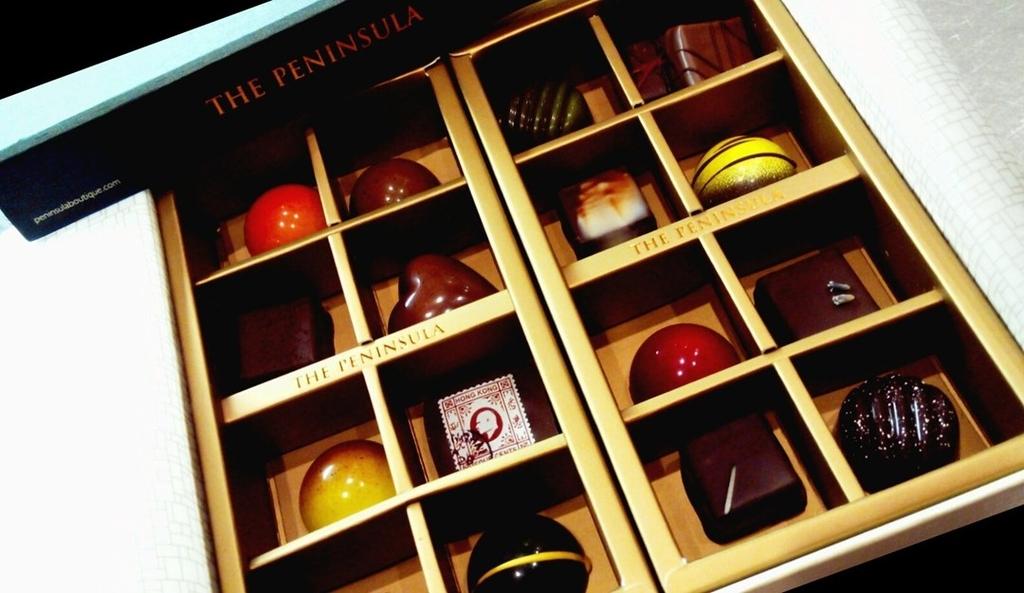 香港お土産チョコレートペニンシュラ