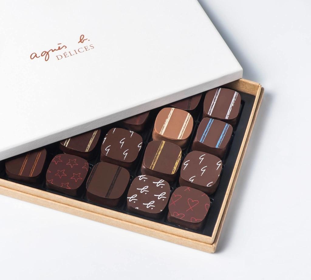 香港土産のチョコレートアニエスベー