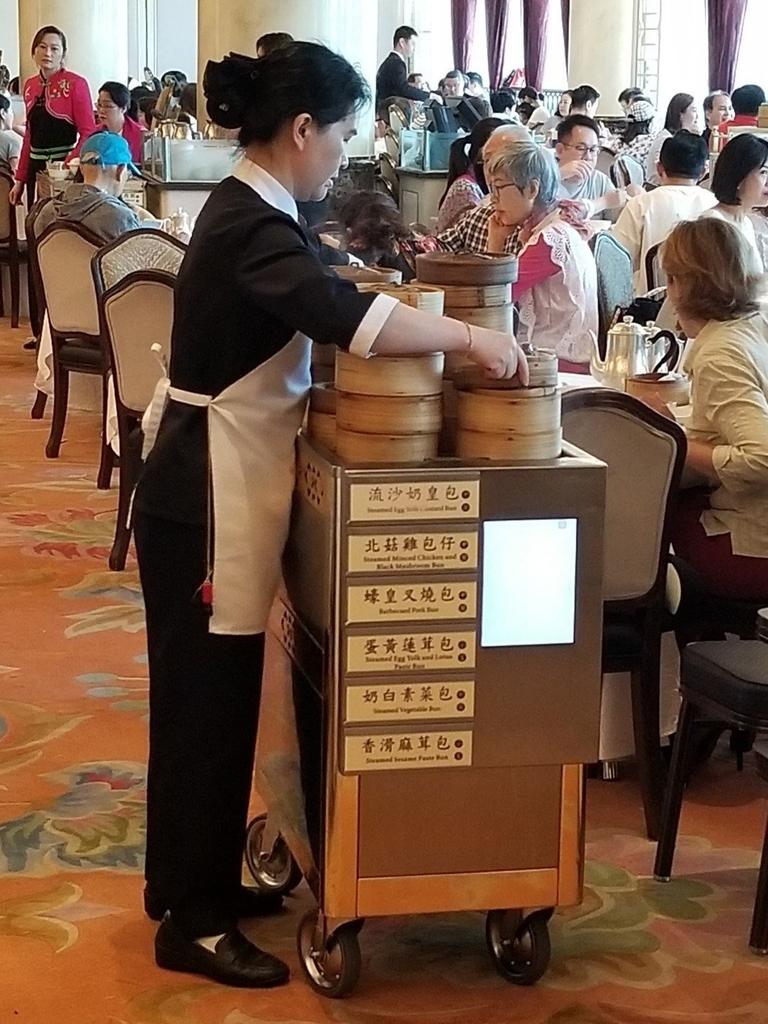 香港飲茶ワゴン式大會堂美心皇宮の写真