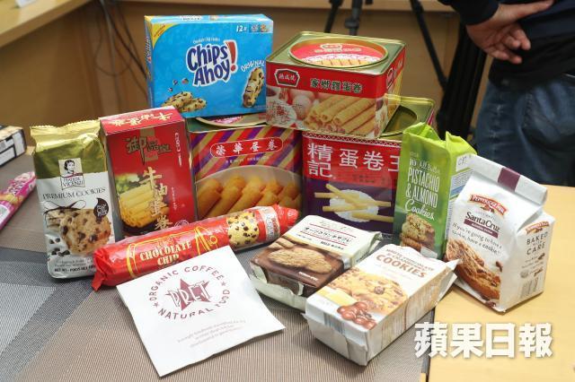 香港土産クッキーの写真