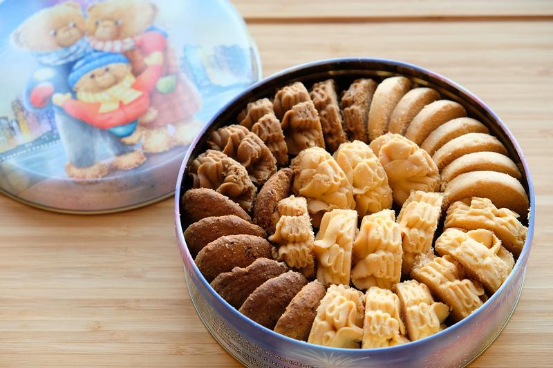 香港土産クッキーのジェニーベーカリーの写真