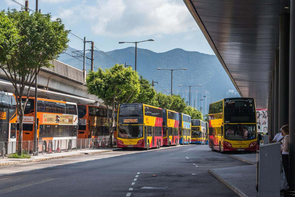 香港国際空港から市内へバスがおすすめ