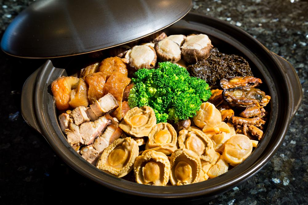 香港の旧正月(春節)に食べられる縁起のいい食べ物盆菜