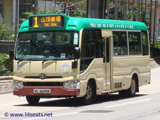 香港 ビクトリア ピーク バス