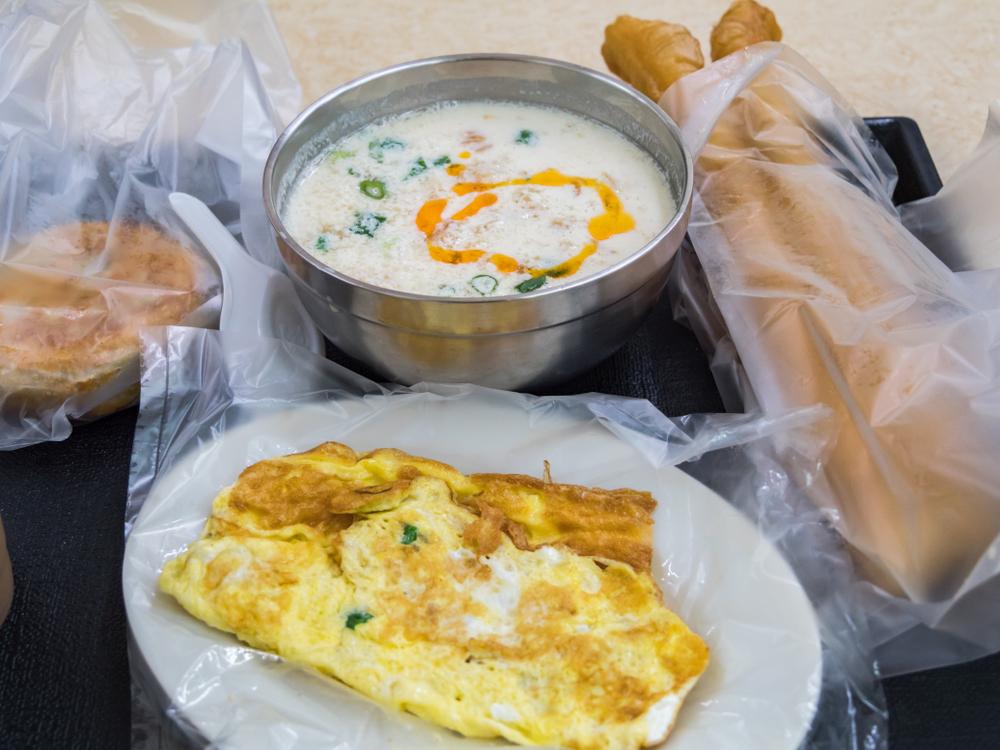 【台湾の朝食】早朝から開いている台北のおすすめ朝ごはん