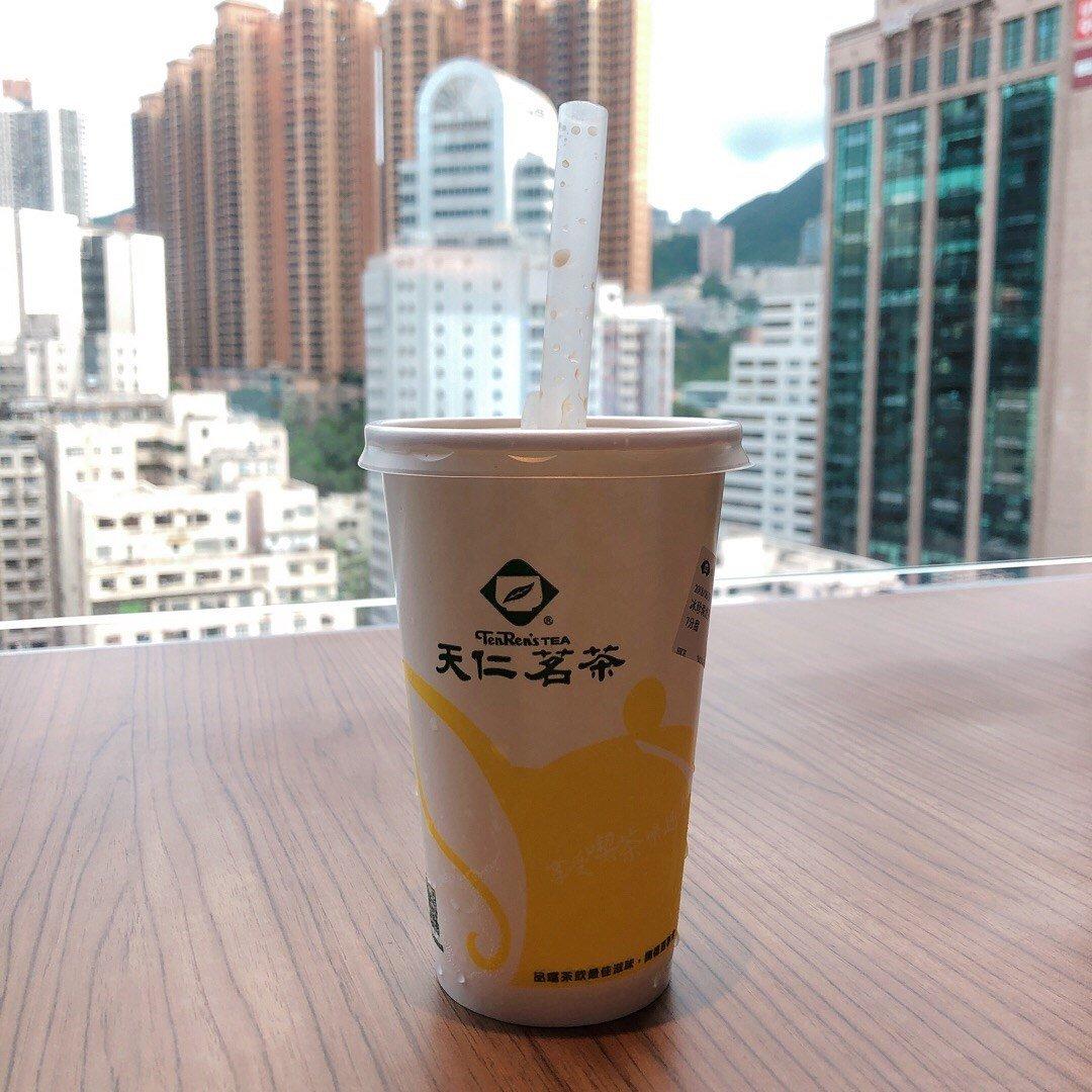 香港尖沙咀(チムサーチョイ)のタピオカ天仁茗茶