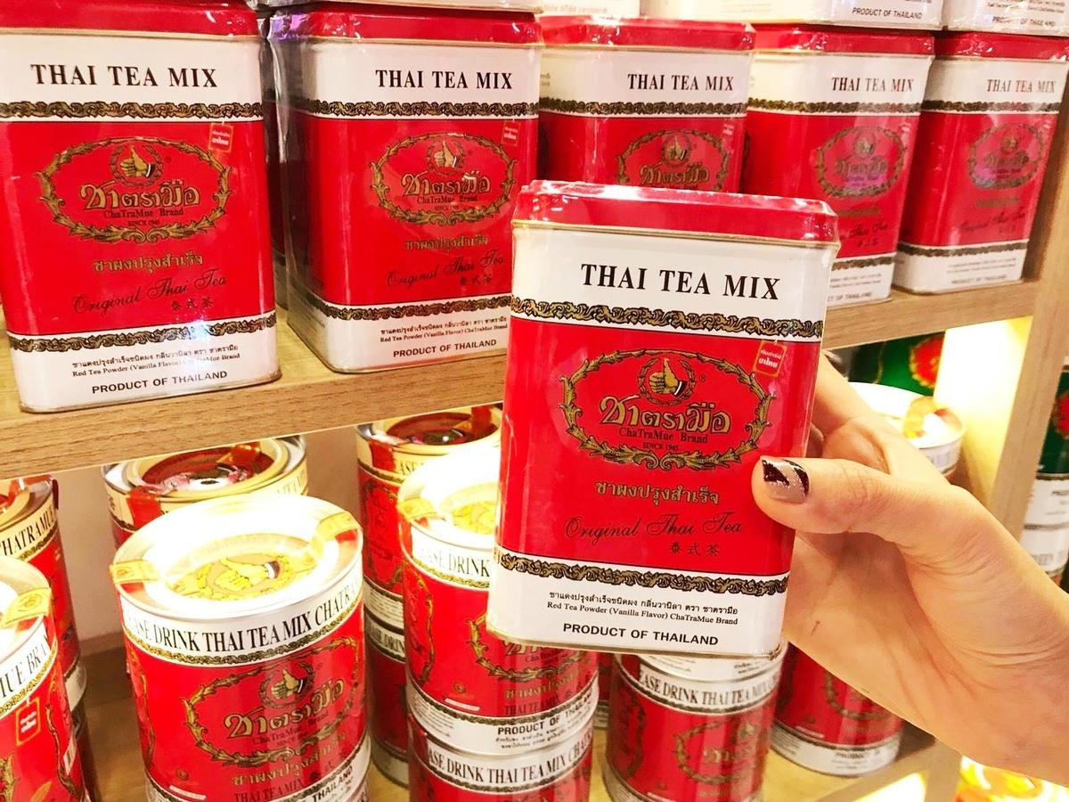香港にもできたタイミルクティーChaTraMue