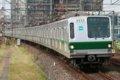 東京メトロ6000系(6123F)@JR金町駅