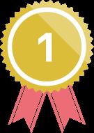 ランキングメダル1位