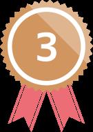 ランキングメダル3位