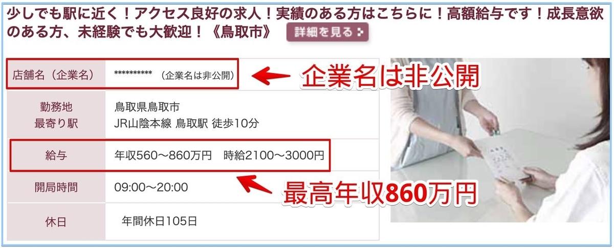 薬剤師の鳥取県の高額給与求人