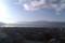 諏訪湖の朝、山王閣から。