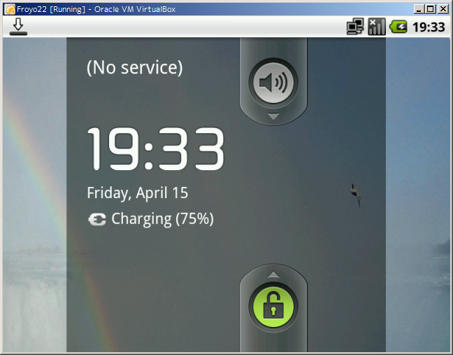 Android-x86 2.2 (Froyo) on VirtualBox
