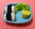 [編み物]たまご焼き・レタス