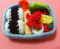 [編み物]お弁当完成