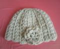 [編み物]ネットみたいな帽子