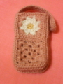 [編み物]携帯ケース
