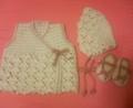 [編み物]赤ちゃん装備