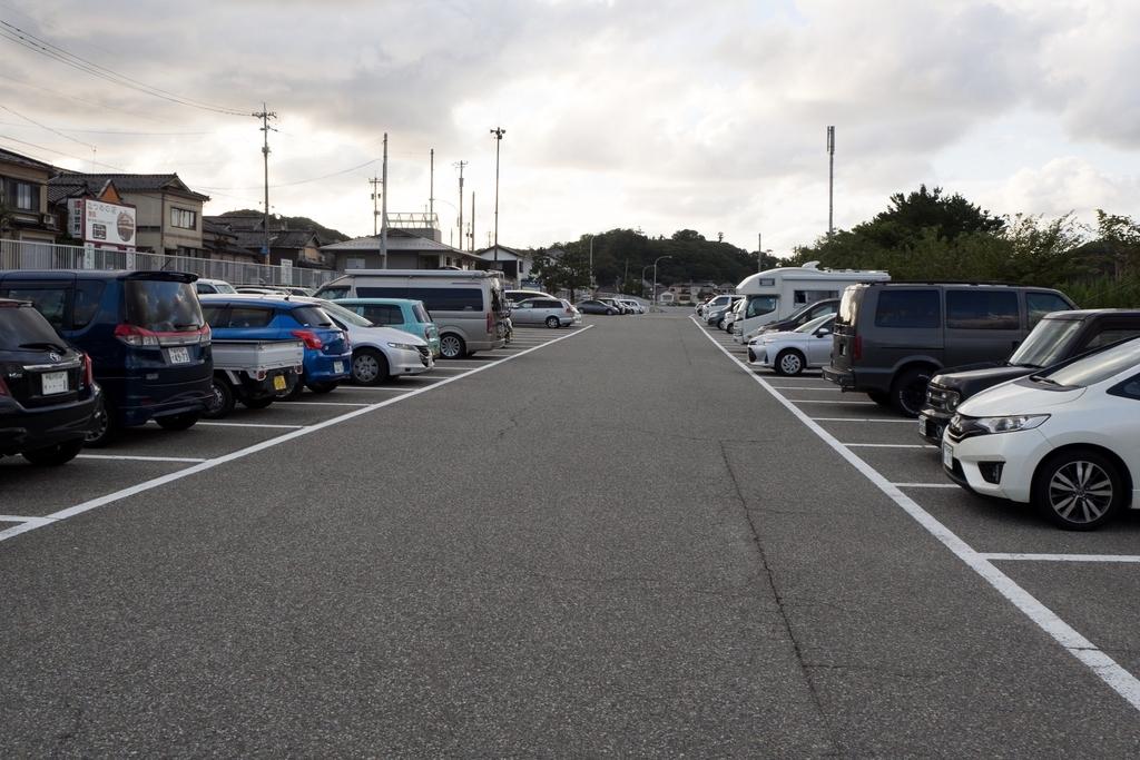 輪島朝市駐車場