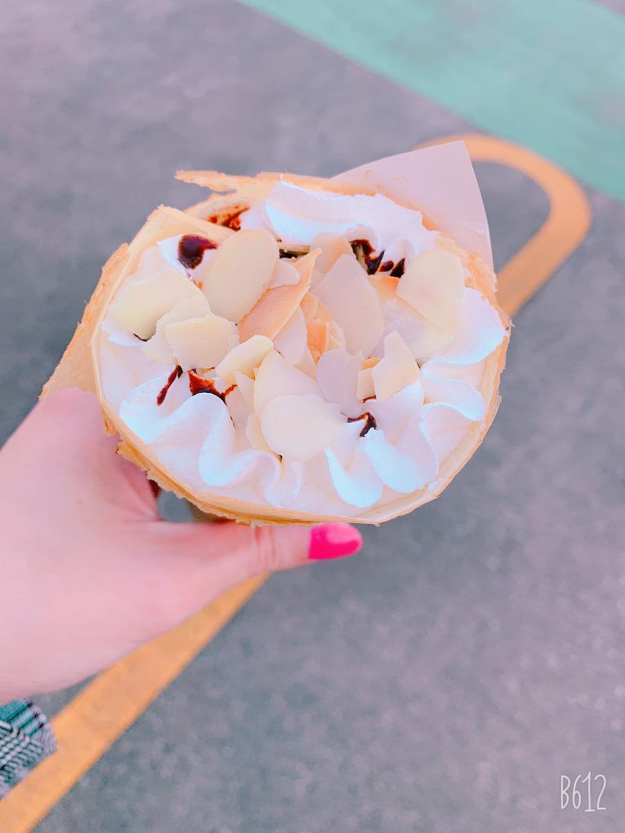 チョコアーモンドクリーム