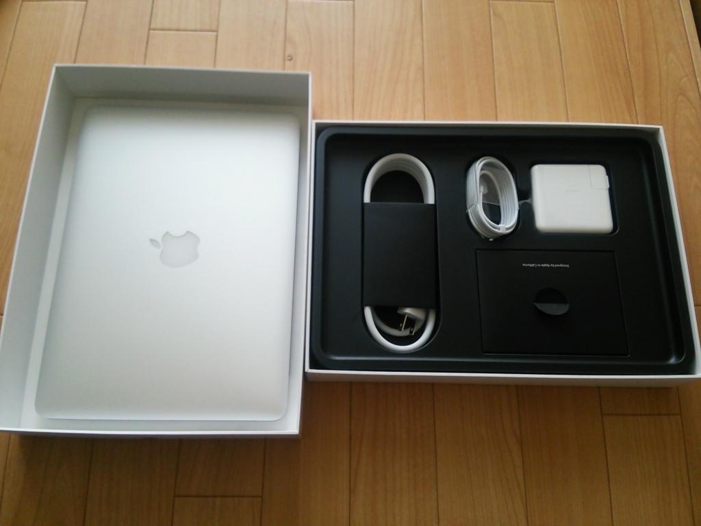 MacBook Pro Retina13を購入