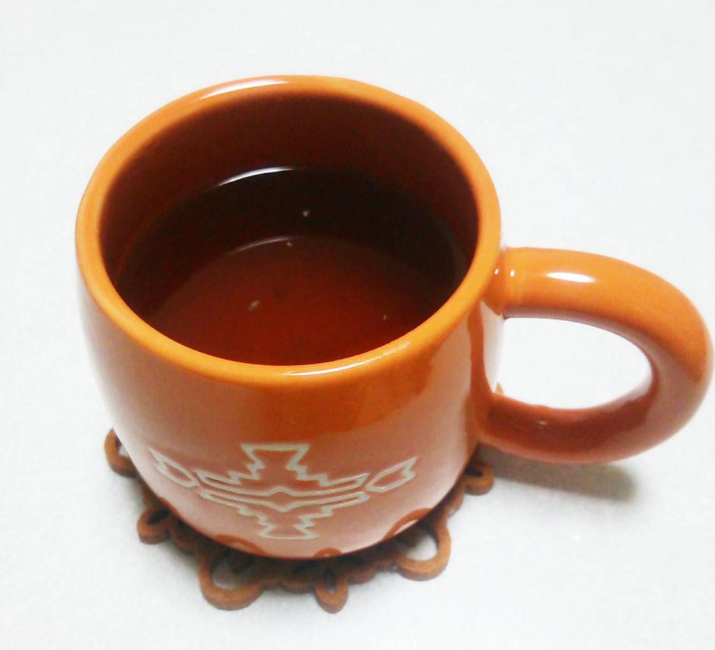 ジンジャーレモンティーとオシャレなカップ